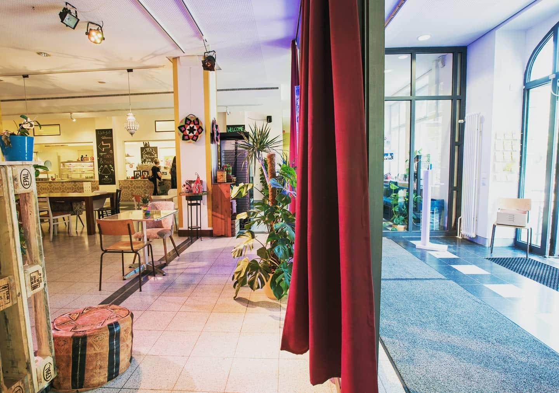 Foto des Cafes