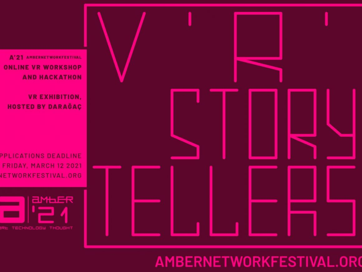 a'21: online VR Storytellers and Hackathon