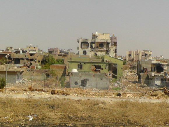"""أ'21: البنى التحتية العتبة للمساحات المتبقية - I """"فائض التدمير"""""""