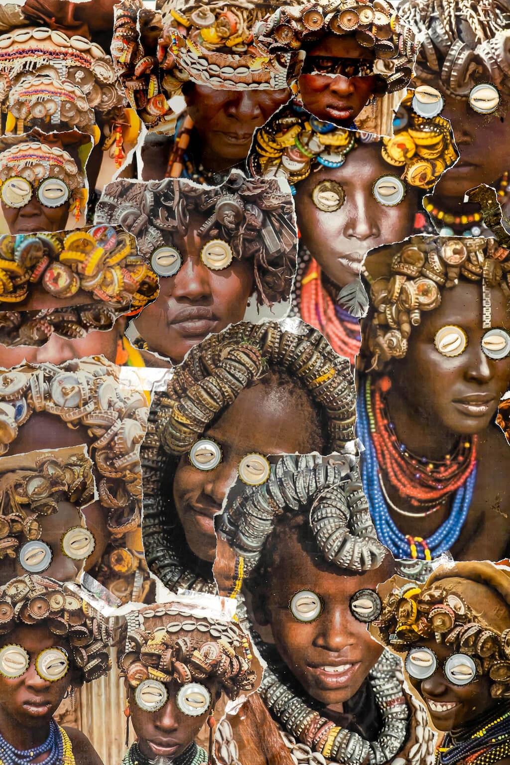 Exocé Kasongo, ECO Tribe, print of demand, 2021