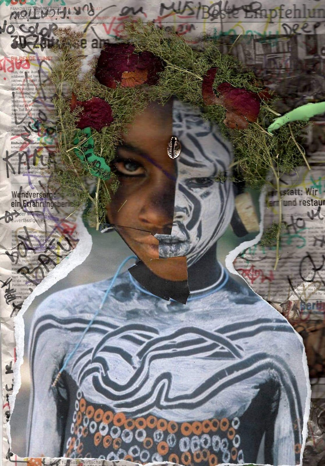 Exocé Kasongo, Last Punk, print on demand, 2021