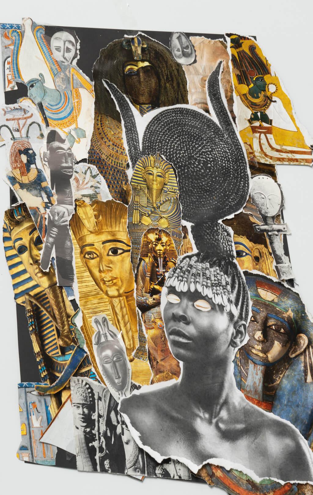 Exocé Kasongo, She remember, print on demand, 2021