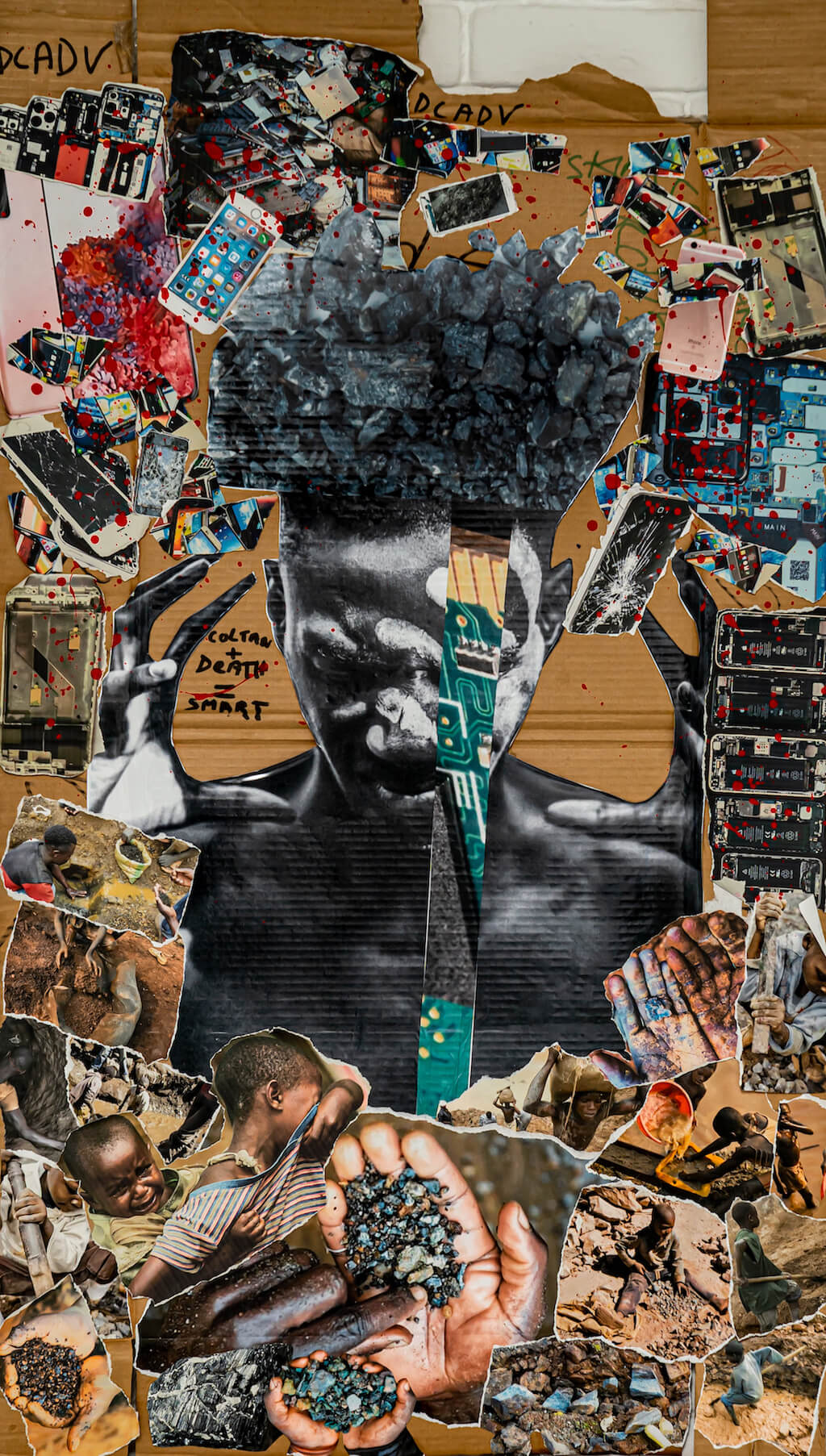 Exocé Kasongo, Trouble, print on demand, 2021