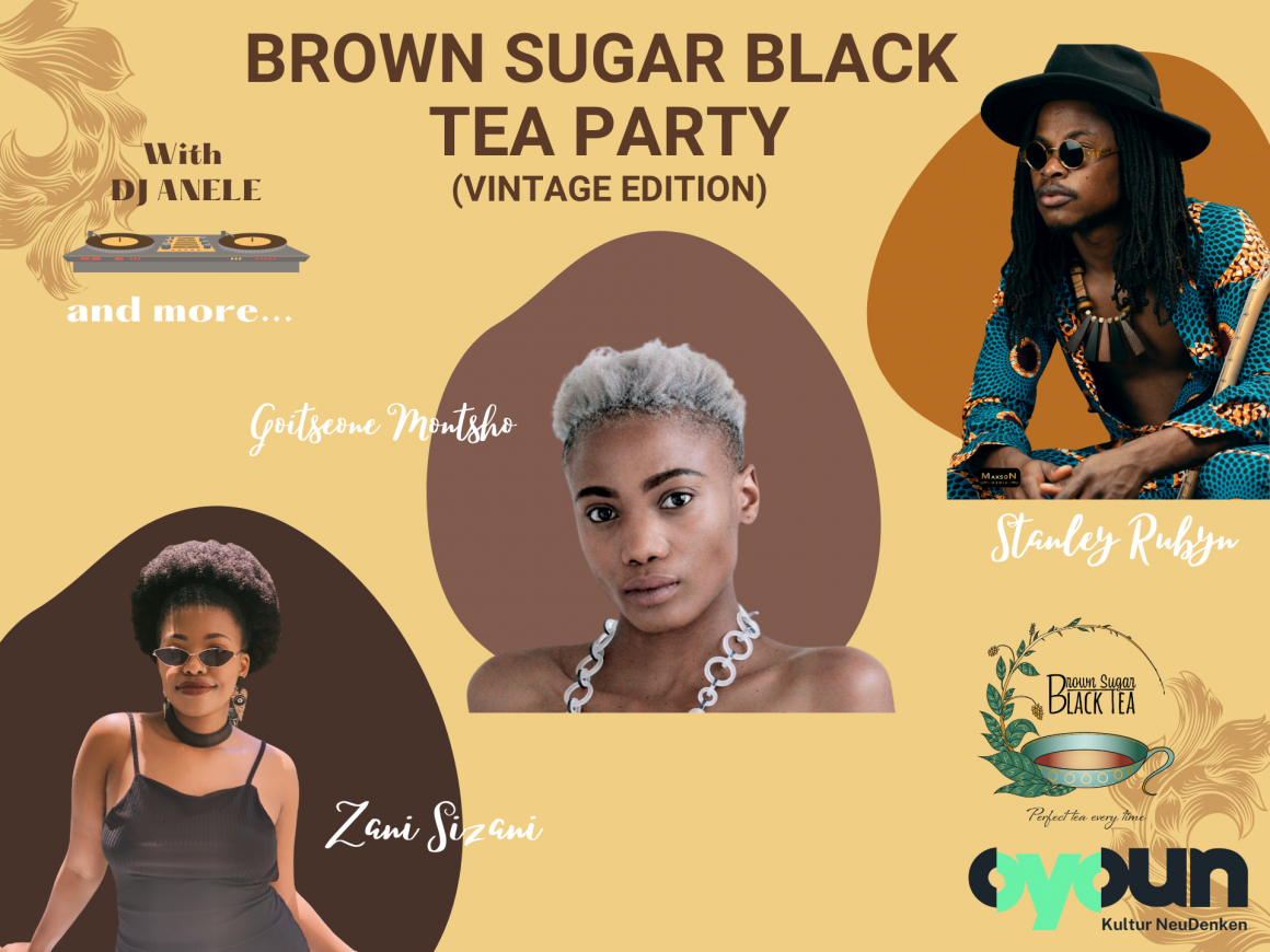 Brown Sugar Black Tea Party (Vintage Edition)